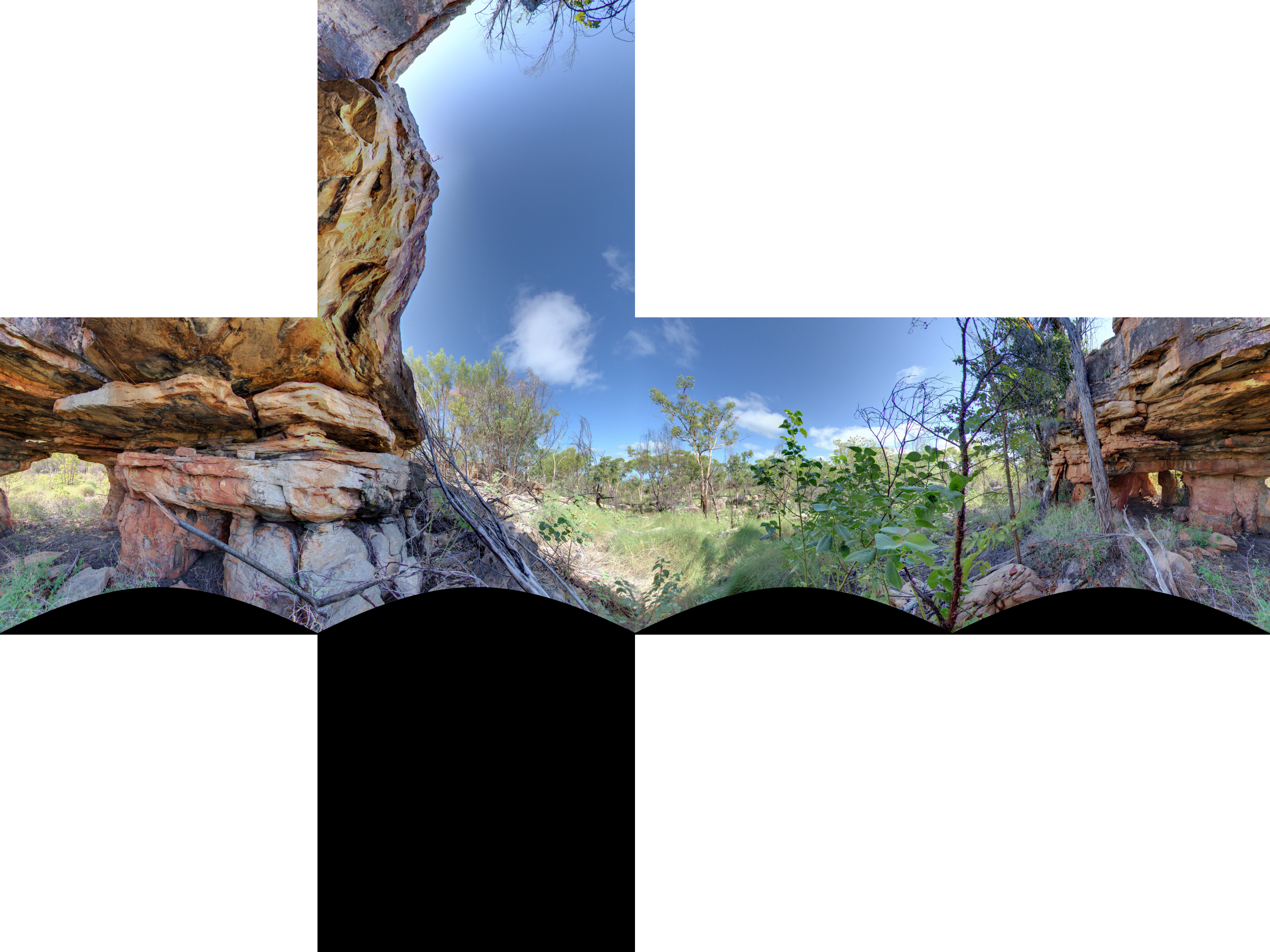 Converting a fisheye image to panoramic, spherical and perspective