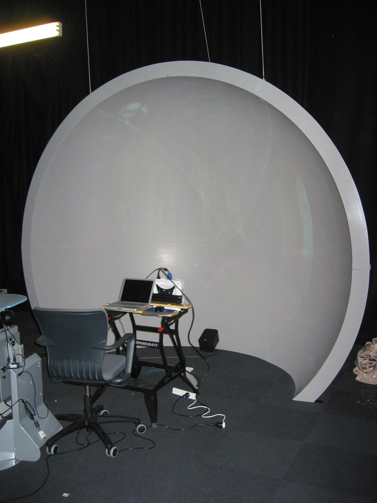Idome images for Mirror projector