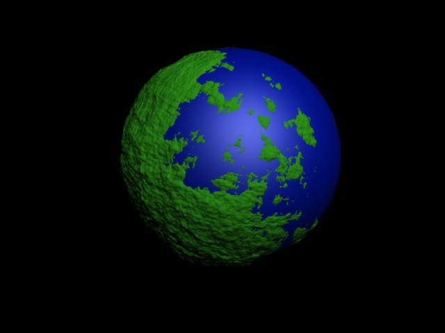 Noise, Perlin, 1/f Noise, Modelling planets