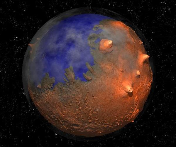 Terraforming Of Mars: Visualising The Universe